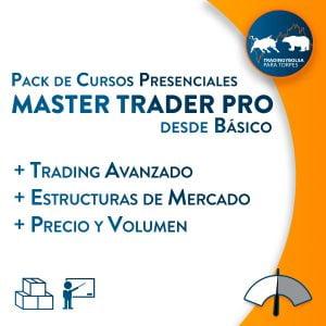Pack Master Trader Pro Presencial Desde Básico