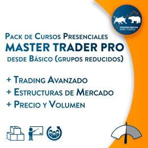Pack Master Trader Pro Presencial desde Básico (Grupos reducidos)