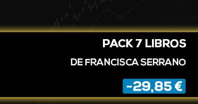 Descuento BPT Friday en Pack de 7 Libros de Francisca Serrano