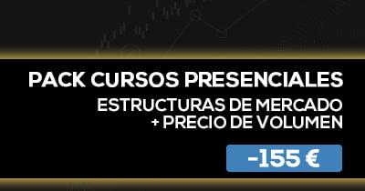 Pack Cursos presencial Estructuras de mercado + precio de volumen BPT Friday
